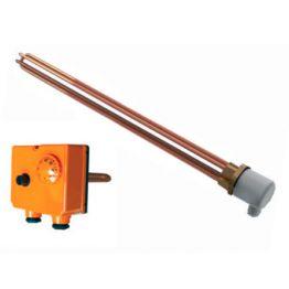 Нагревательный элемент с терморегулятором 50.207.213 230V 2000W Sunsystem