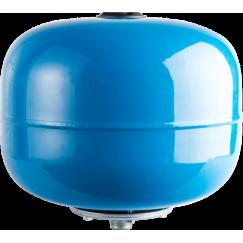 Расширительный бак, гидроаккумулятор 24л синий вертикальный Stout
