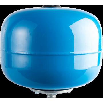 Расширительный бак, гидроаккумулятор 24л синий вертикальный Stout STW-0001-000024
