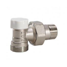 """Клапан угловой для пластиковых труб easy DS 132 1/2"""" Luxor"""