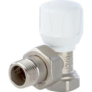 Клапан ручной терморегулирующий угловой 1/2 Stout SVR-0002-000015
