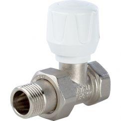 """Клапан ручной терморегулирующий прямой 3/4"""" Stout"""