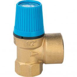 """Предохранительный клапан для систем водоснабжения 6 - 1/2"""" Stout"""