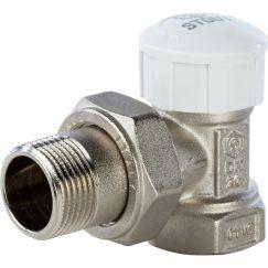 """Клапан термостатический угловой 3/4"""" Stout"""