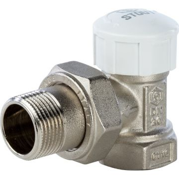 Клапан термостатический угловой 3/4 Stout SVT-0004-000020