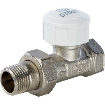 Клапан термостатический прямой 1/2 Stout SVT-0001-000015