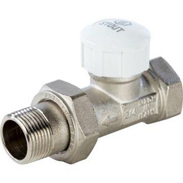 Клапан термостатический прямой 3/4 Stout SVT-0003-000020