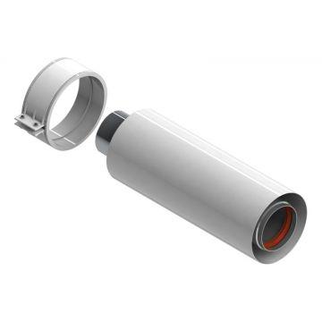 Элемент дымохода ø60/100 труба коаксиальная 250мм уплотнения и хомут в комплекте Stout SCA-6010-000250