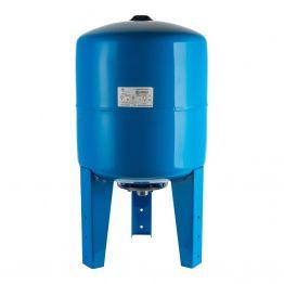 Расширительный бак, гидроаккумулятор 80л синий вертикальный Stout