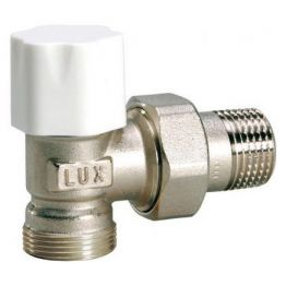 Клапан ручной регулировки угловой для стальных труб Tekna DS 22 3/4 Luxor