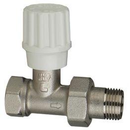Вентиль ручной регулировки угловой для пластиковых труб Tekna RS 12 1/2 Luxor