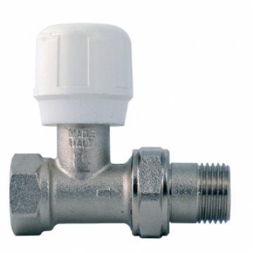 Вентиль термостатический под термоголовку угловой для пластиковых труб Thermo Tekna RS 212 1/2 Luxor 12122100