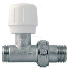 Вентиль регулирующий линейный для металлопластиковых труб к соединениям типа Multi-Fit (ART295) 1/2