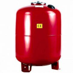 Расширительный бак UNIGB Модель 150 л для отопления вертикальный (цвет красный)