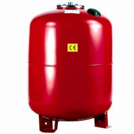 Расширительный бак UNIGB Модель 250 л для отопления вертикальный (цвет красный)