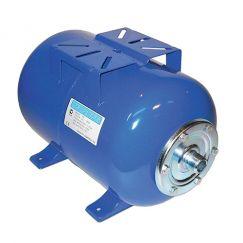Гидроаккумулятор UNIGB Модель 80 л для водоснабжения горизонтальный (цвет синий)