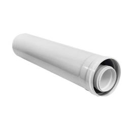 Труба 0,5 м DN 60/100 белая Vaillant
