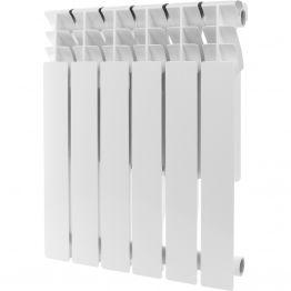 Радиатор алюминиевый Rommer Plus 500/100 6 секций