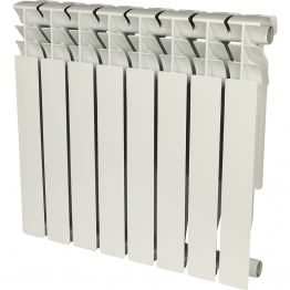 Радиатор алюминиевый Rommer Plus 500/100 8 секций
