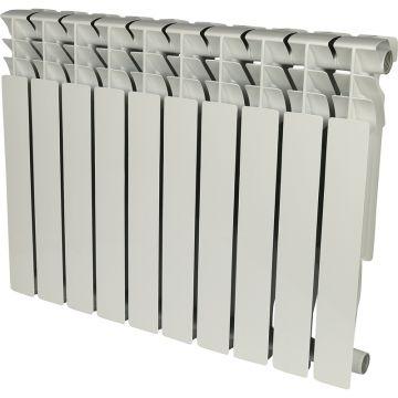 Радиатор алюминиевый Rommer Plus 500/100 10 секций 89566