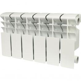 Радиатор алюминиевый Rommer Plus 200/100 6 секций