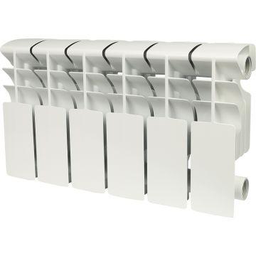 Радиатор алюминиевый Rommer Plus 200/100 6 секций 89989