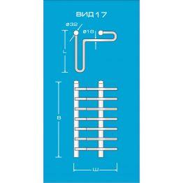 Водяной полотенцесушитель Вид 17