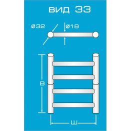 Электрический полотенцесушитель Вид 33