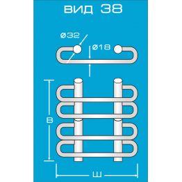 Электрический полотенцесушитель Вид 38
