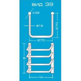 Электрический полотенцесушитель Вид 39