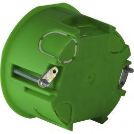 Коробка установочная для полых стен мет. лапки 64х40 мм IP30 | 336шт | Hegel КУ1204