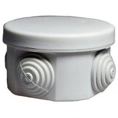 Коробка распаячная 40-0100 для ОП, 65 х 40 мм, IP55, безгалогенная (HF), серый (200 шт) ПРОМРУКАВ
