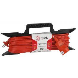 Удлинитель силовой ЭРА рамка без заземл. 10м 1гн 2х0,75мм2 UF-1-2x0.75-10m