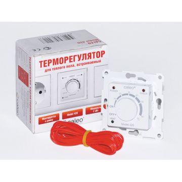 Терморегулятор CALEO 420 2 кВт, с адаптерами(адаптеры в отдельной коробке) 111