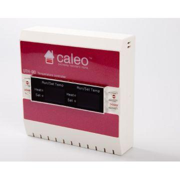 Терморегулятор UTH-90 2x3,3 кВт двухканальный накладной 111