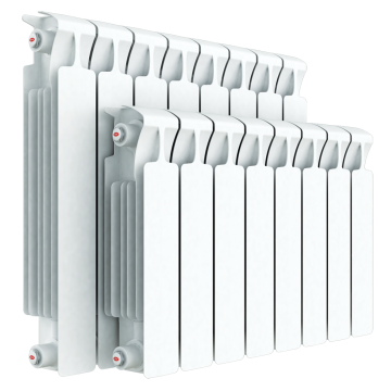 Радиатор биметаллический RIFAR Monolit 350 6 секций 67496
