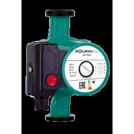 Насос циркуляционный Aquatic Eco 25/6-130 с гайками (зеленый)