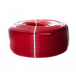 Труба PEX-а 16х2,0 STOUT с кислородным слоем, красная (бухта 200м)