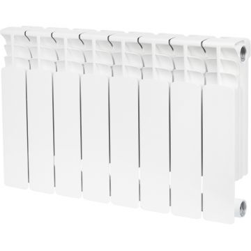 Радиатор биметаллический Space 350/90 8 секций Stout SRB-0310-035008