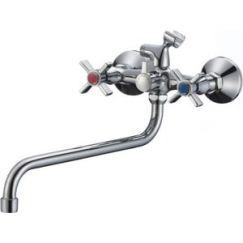 Смеситель для ванны с длинным изливом SL118-140