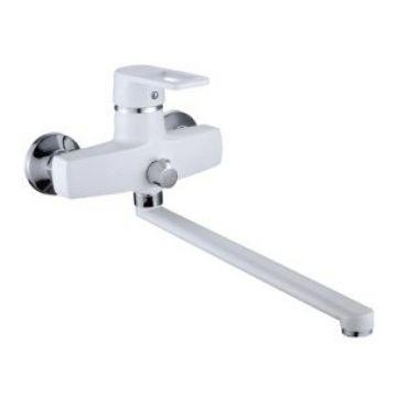 Смеситель для ванны с длинным изливом белый SL77W-006E SL77W-006E