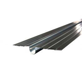 Теплораспределительная пластина 132*1000 мм из оцинкованной стали 0,5 мм