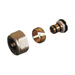 Фитинг компрессионный д/труб из металлопластика 16-2,0 TP 96 резьба G 1/2 Luxor