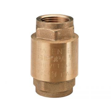 Клапан 1 1/4 обратный пружинный муфтовый с металлическим седлом EUROPA itap 100