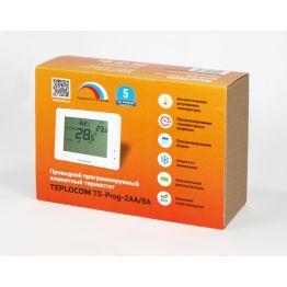 Термостат комнатный TEPLOCOM TS-Prog-2AA/8A 912