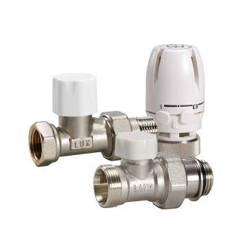 Блистер термостатический комплект прямой КТ 201 3/4 Luxor 12872700