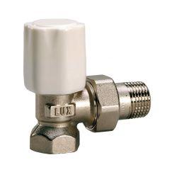 Вентиль регулирующий угловой для стальных труб Tekna RS 02 3/4 Luxor