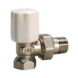 Вентиль регулирующий угловой для стальных труб Tekna RS 02 1/2 Luxor