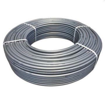Труба PEX-а 25х3,5 STOUT с кислородным слоем, серая (бухта 50м) SPX-0001-002535