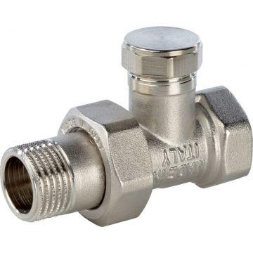 Клапан запорно-балансировочный прямой 1/2 Stout SVL-0001-000015